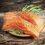 Le proprietà del salmone