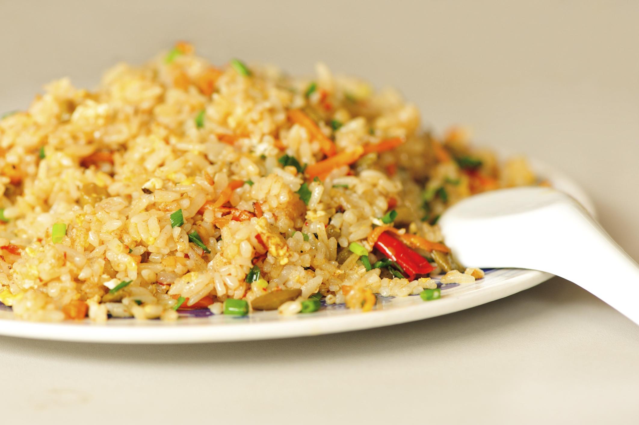 Riso integrale con verdure bacche di goji e semi di chia alimentazione by - Cucinare riso integrale ...