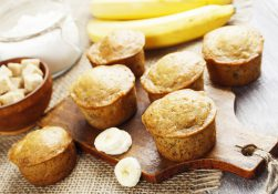 Cupcakes vegani con banana