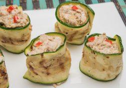 Involtini zucchine e tonno